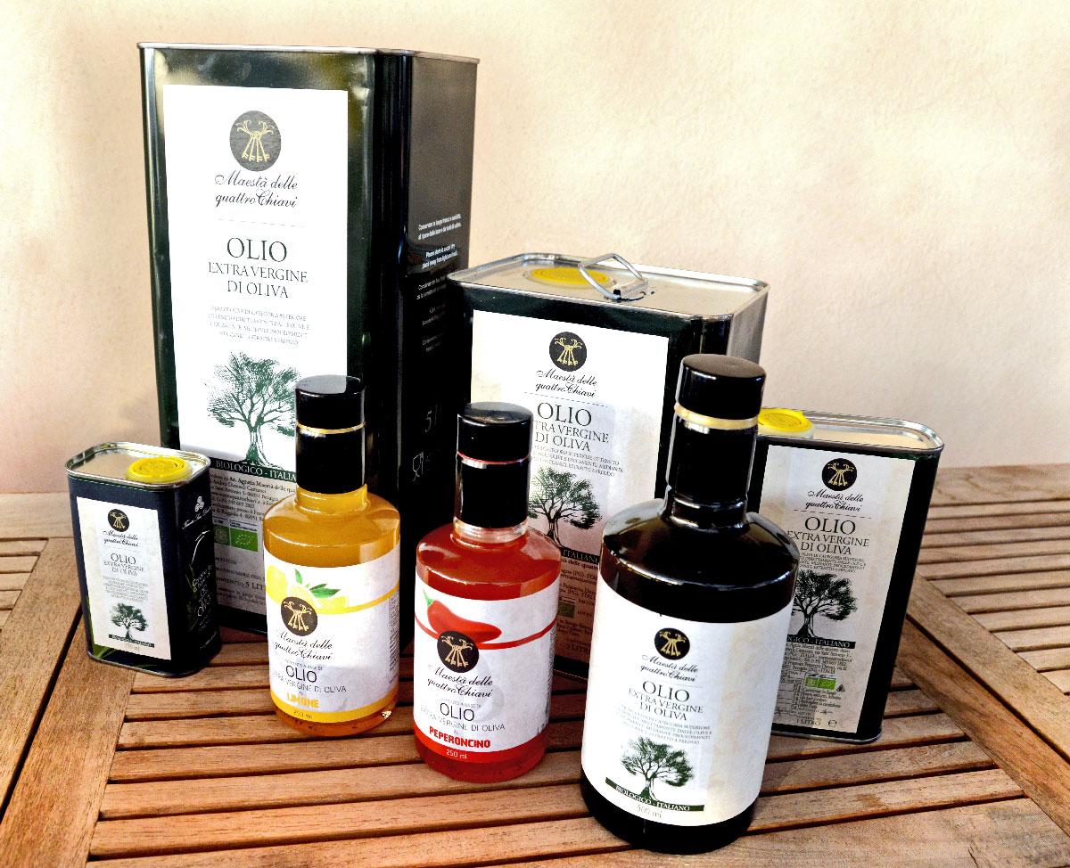 olio extra vergine di oliva maestà delle quattro chiavi bevagna umbria